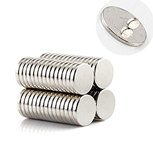 Linlinzz magnets for refrigerator 6mm x 2mm stainless for Small round magnets crafts