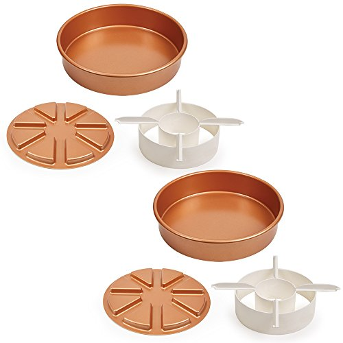Copper Chef Copper Crisper 2 Pack With Tongs Micromally