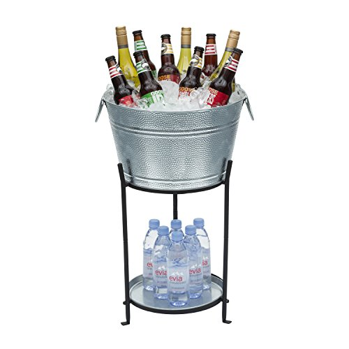 Oxo Good Grips Double Wall Ice Bucket With Tongs And