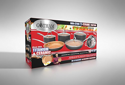 Gotham Steel Ceramic Non Stick Griddle 10 5 Micromally