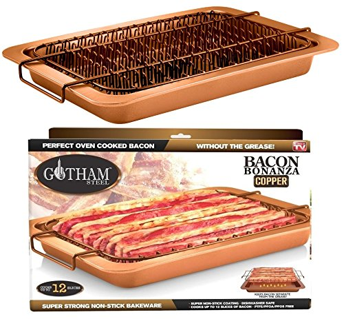 Bacon Bonanza By Gotham Steel Oven Healthier Bacon Drip