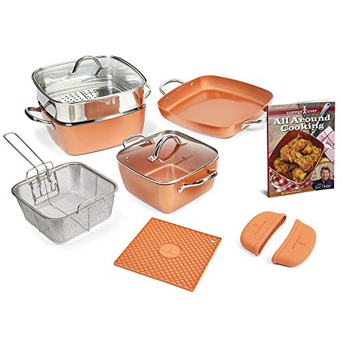 Copper Chef 8 9 5 11 Fry Pan Set Micromally