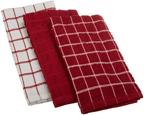 Ritz 100 Cotton Terry Kitchen Dish Towels Highly