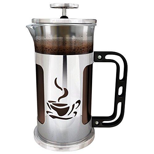 French Coffee Press Chrome 32 Oz Espresso And Tea Maker