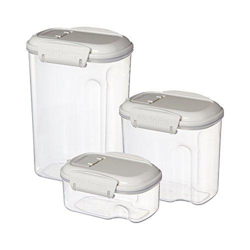 Sistema Bake It Food Storage For Baking Ingredients Multi