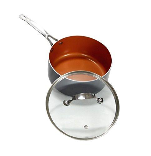 Gotham Steel 1402 3 Piece Nonstick Frying Pan Set 9 5