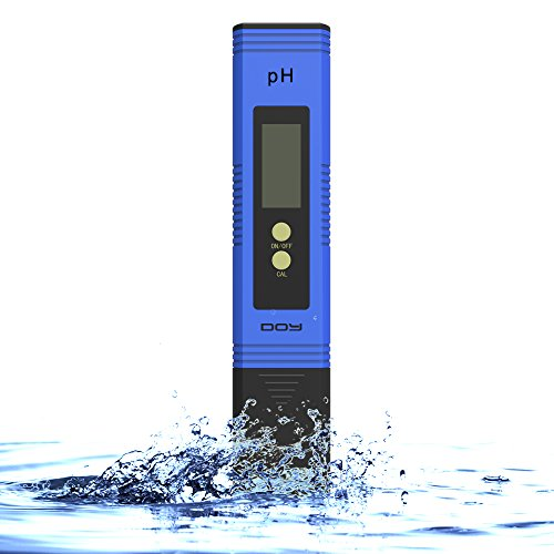 Doy Ph Tester Meter Digital For Water Hydroponics