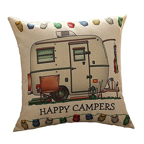Camping Trails Tablecloth Micromally