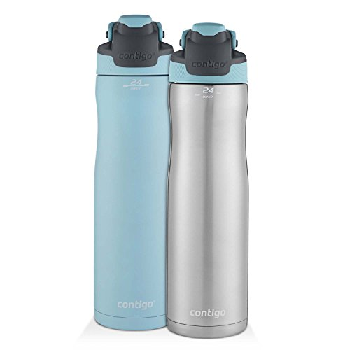 Contigo Autoseal Chill Stainless Steel Water Bottle 24 Oz