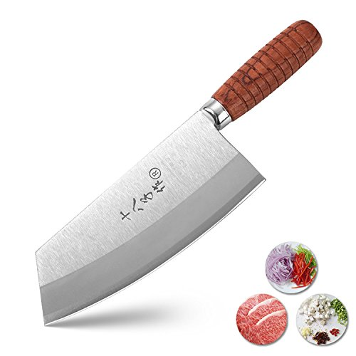 Tuo Cutlery Vegetable Meat Cleaver Knife 7 Fiery Series