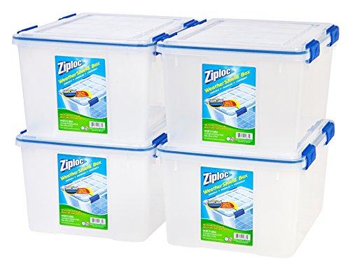 Sterilite 16428012 6 Quart 5 7 Liter Storage Box White