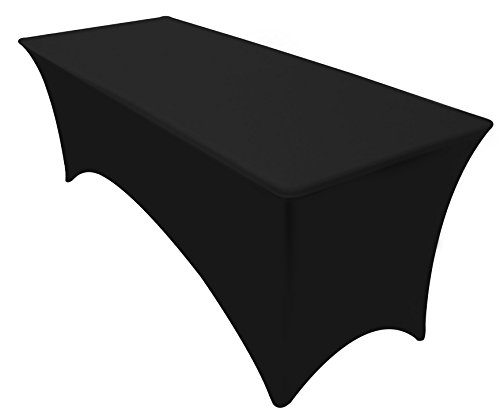 Banquet Tables Pro Black 30 Inch Wide X 48 Inch Long 4