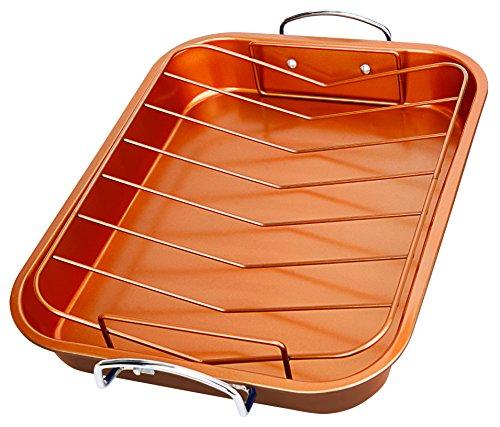 Copper Turkey Roaster Pan Micromally