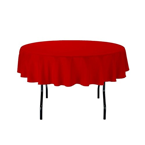 60 X 102 Inch Gee Di Moda Rectangle Tablecloth Red