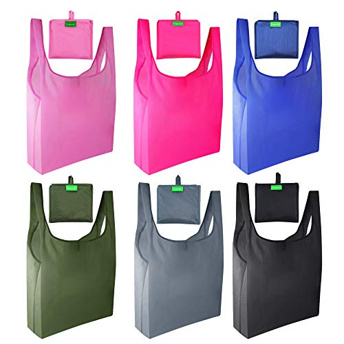 Durable Multi-Use Large Size Merchandise Bags Plain Grocery Bags Comicfs Plastic T Shirt Bags 100, Purple Reusable Retail Carry-out Shopping Bags 12 x 6 x 20 inch